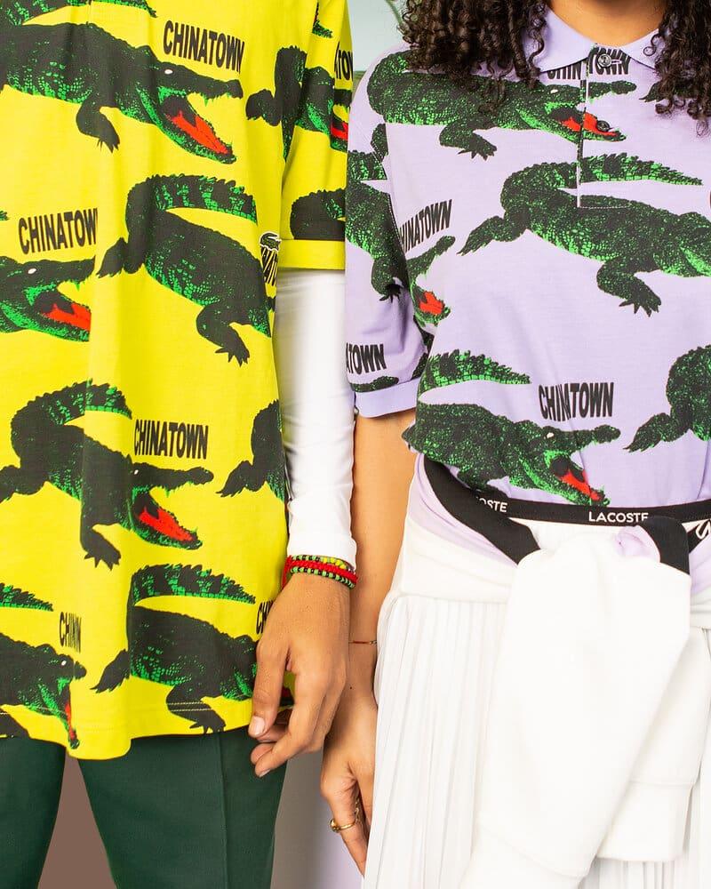 Lacoste x Chinatown Market la conquista del streetwear