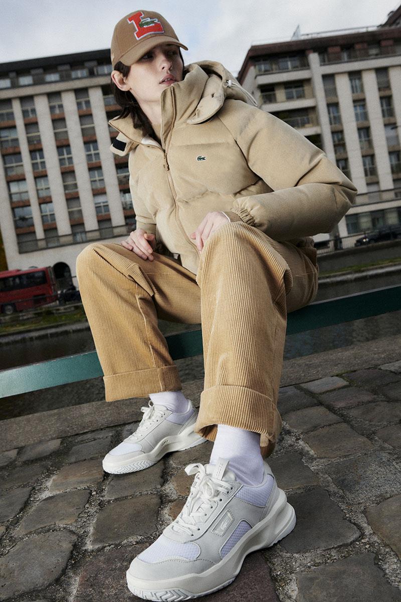 El nuevo modelo de sneakers de Lacoste: Ace Lift AW20