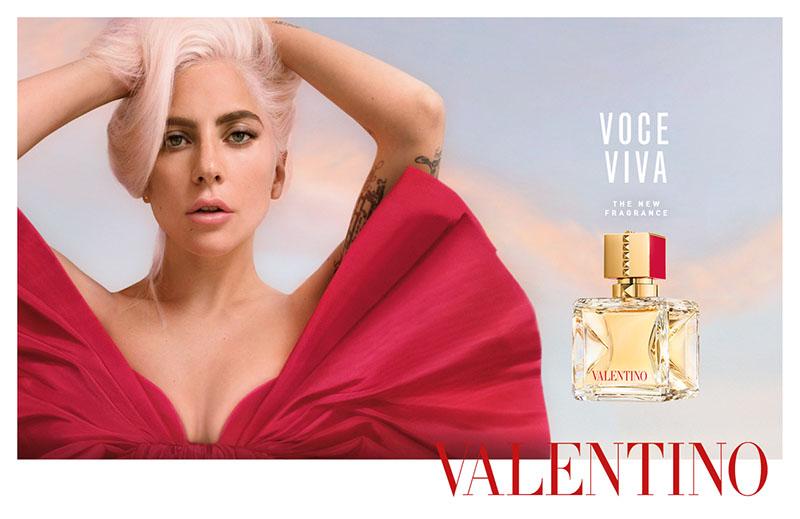Lady Gaga para Valentino Beauty: Voce Viva
