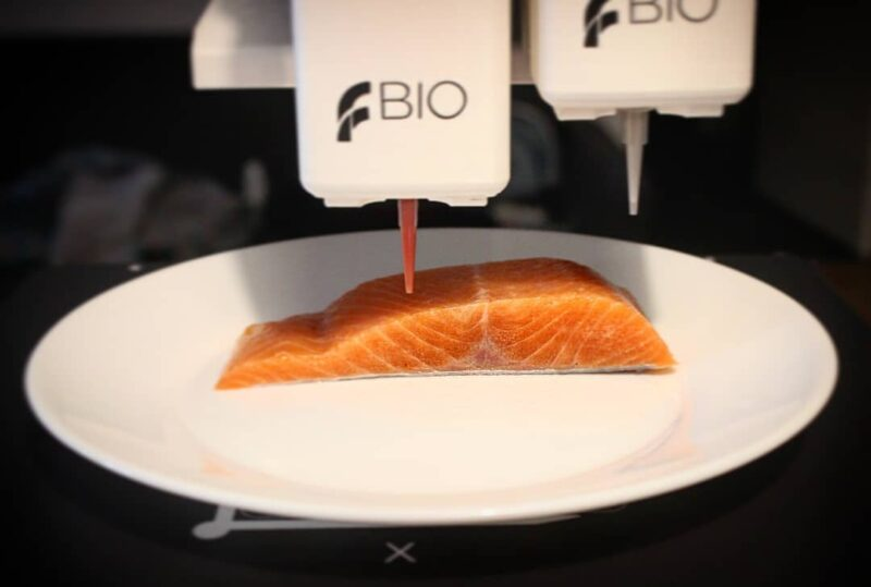 Legendary Vish: salmón vegano impreso en 3D
