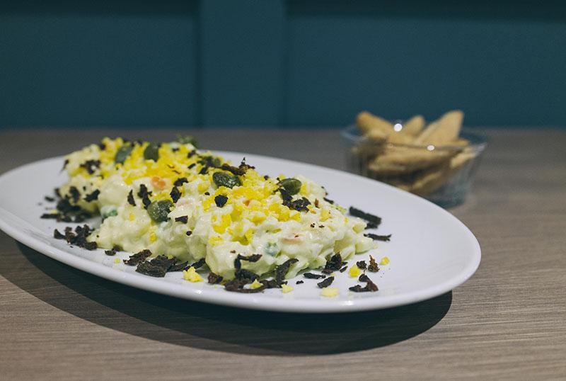 La Parda restaurante: la mejor oreja frita de La Latina