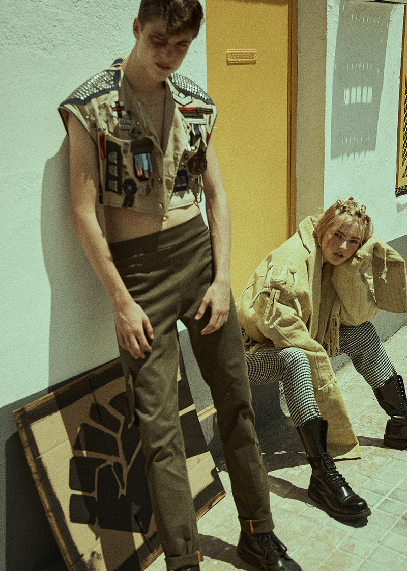 Editorial Armed with a mind x Thomas Moke