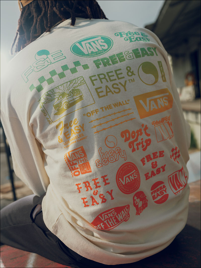 California a tus pies: Vans x Free and Easy