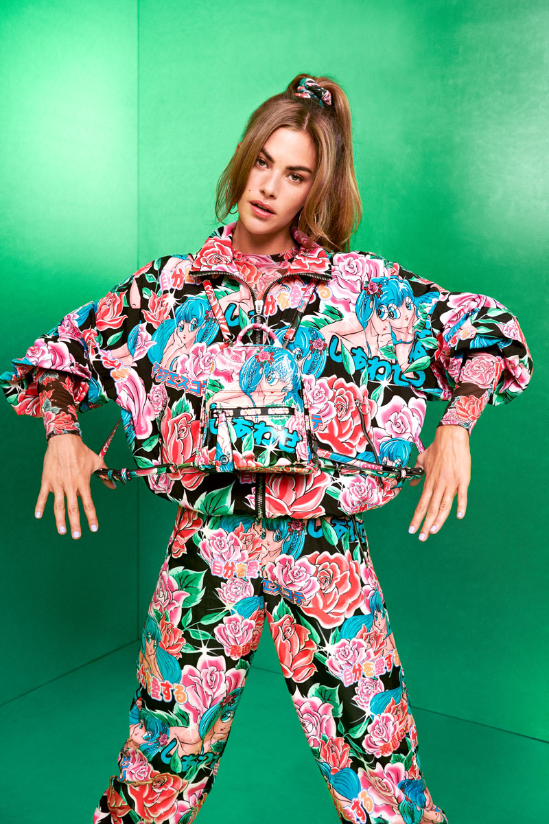 Desigual x María Escote: moda urbana kawaii fw20
