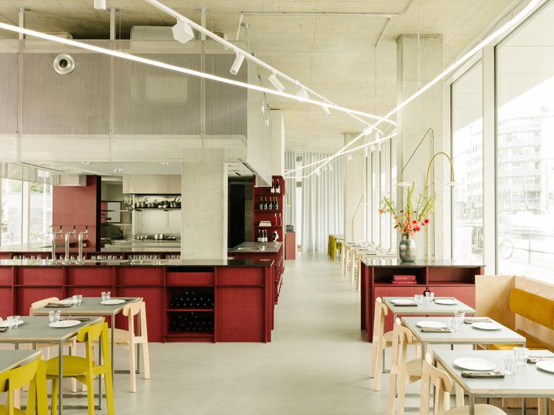 Resturante Remi: la gastroarquitectura de Ester Bruzkus