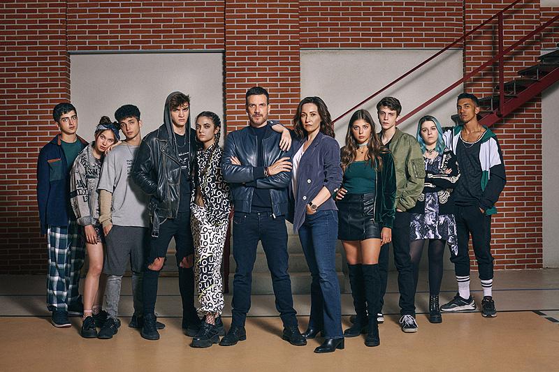 HIT – Así son los protagonistas de la nueva serie de La1