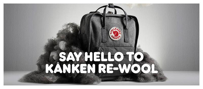Kanken Re-Wool: Reinventando un clásico