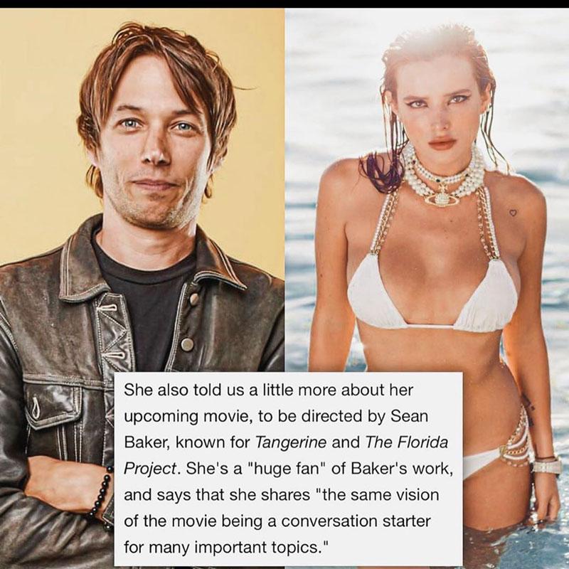 ¿OnlyFans en el cine por Bella Thorne?