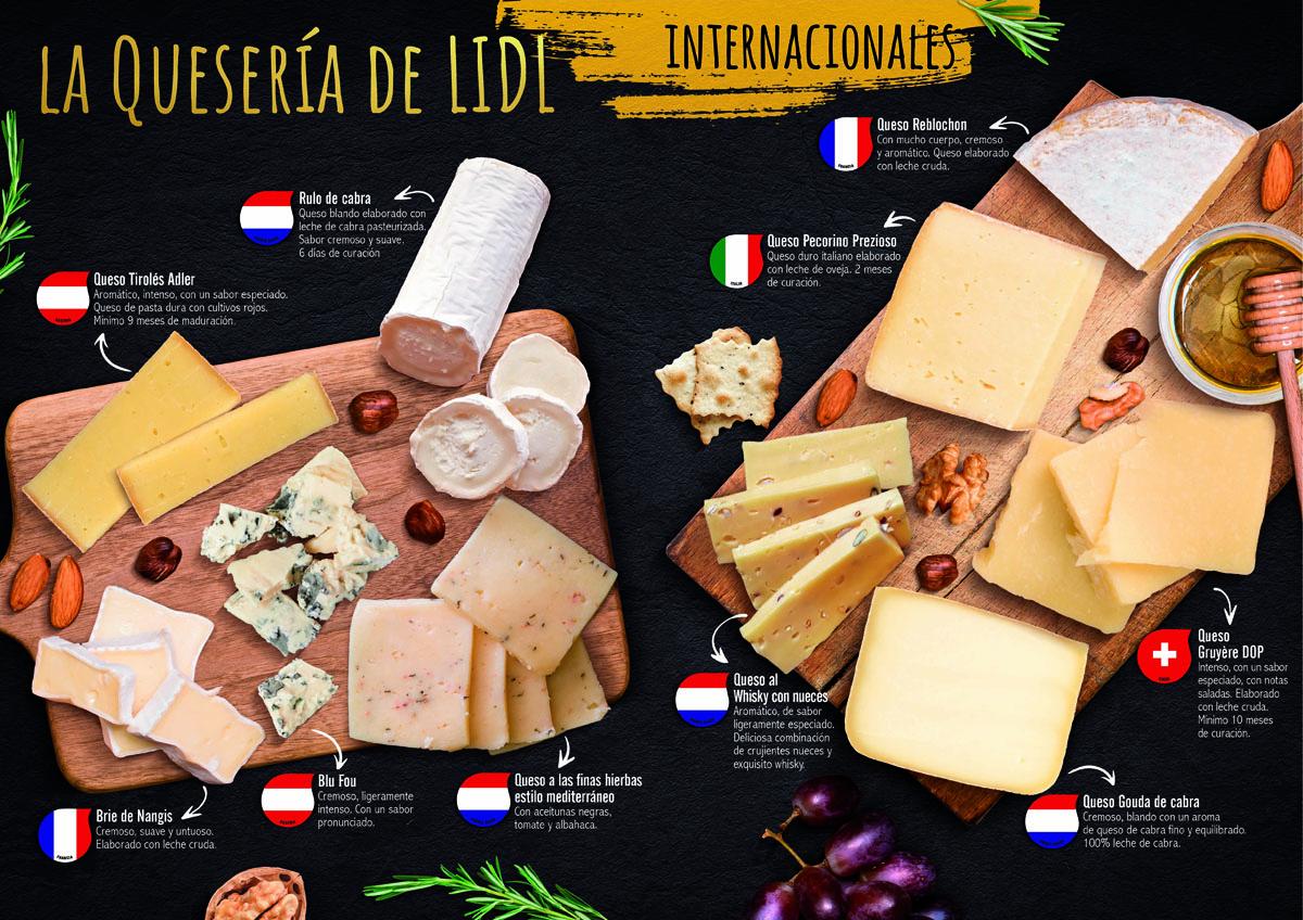 La Quesería de Lidl: Quesos Top por menos de 2,50 euros