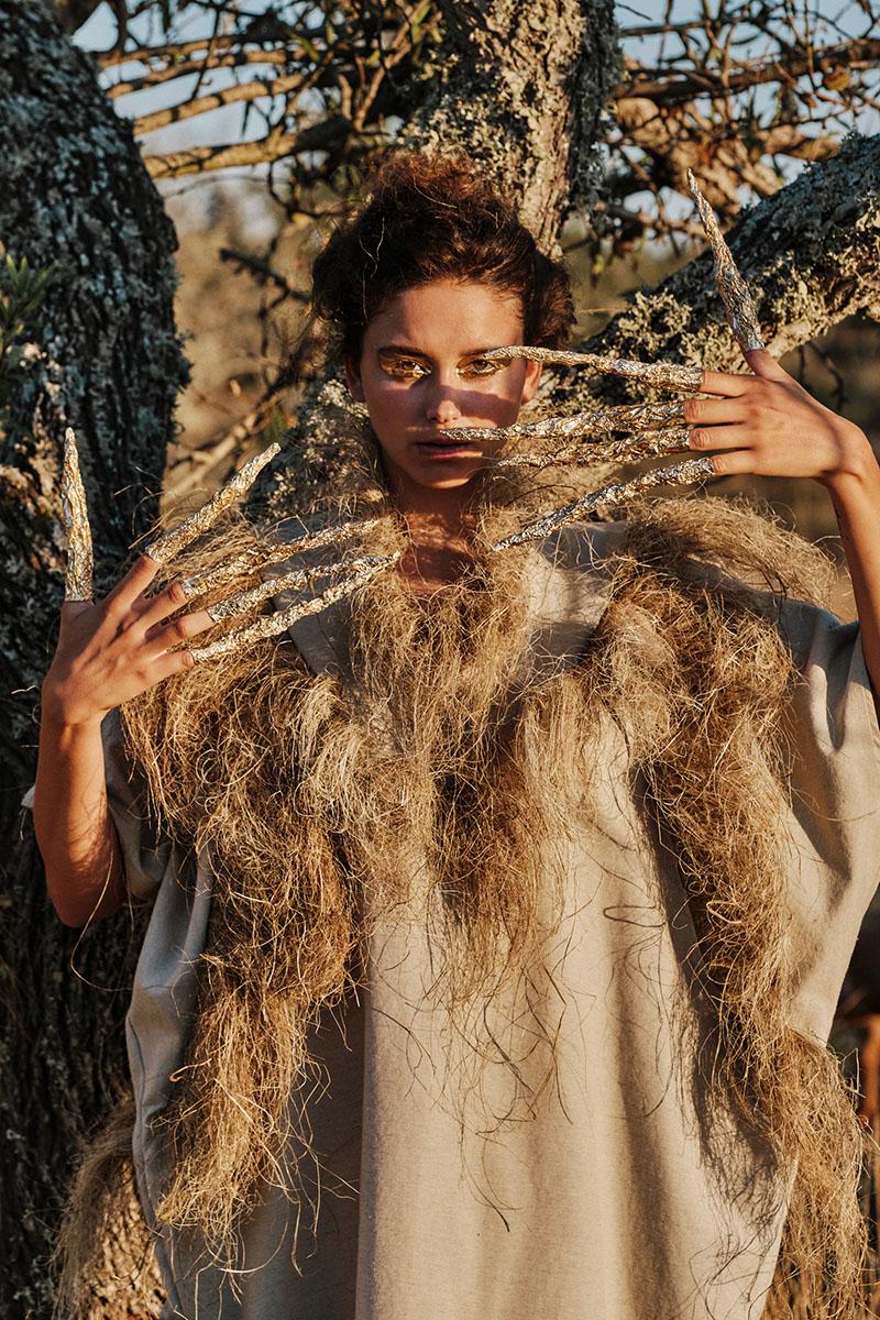 Editorial de moda sostenible: