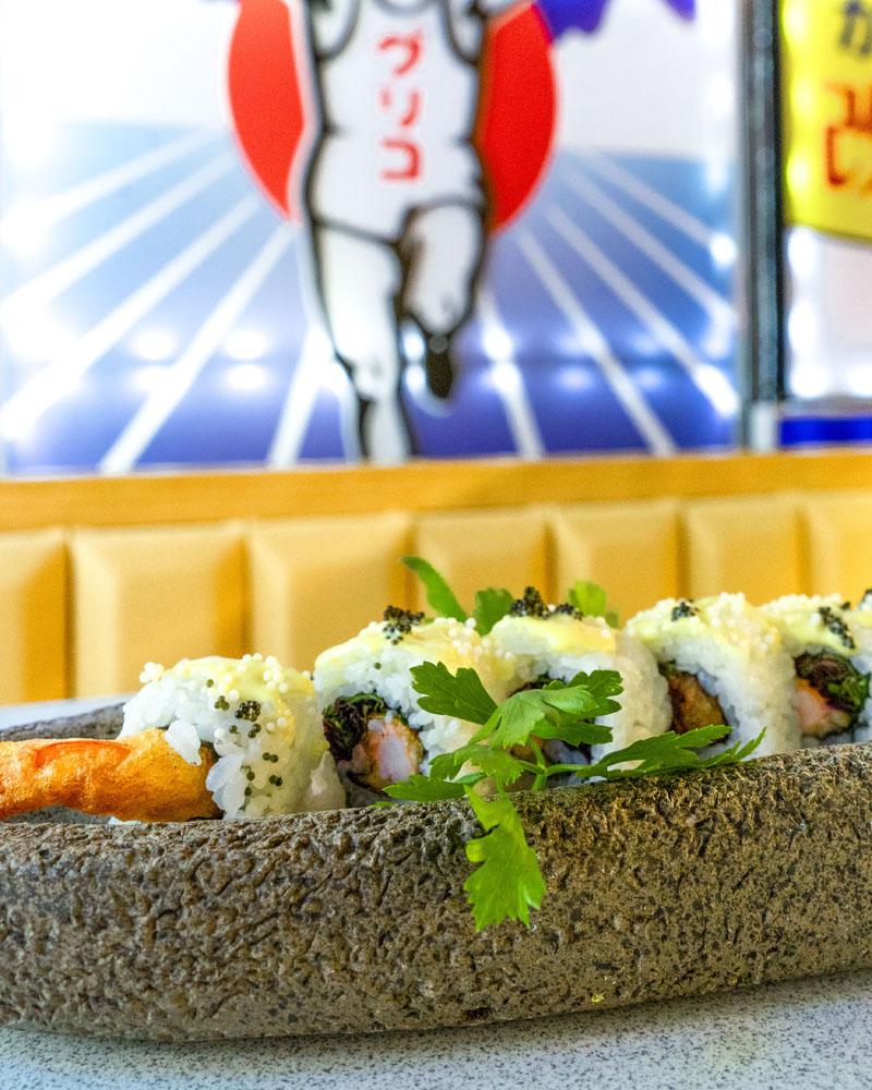 Running Sushi in Osaka: La Barra libre que gira en Madrid