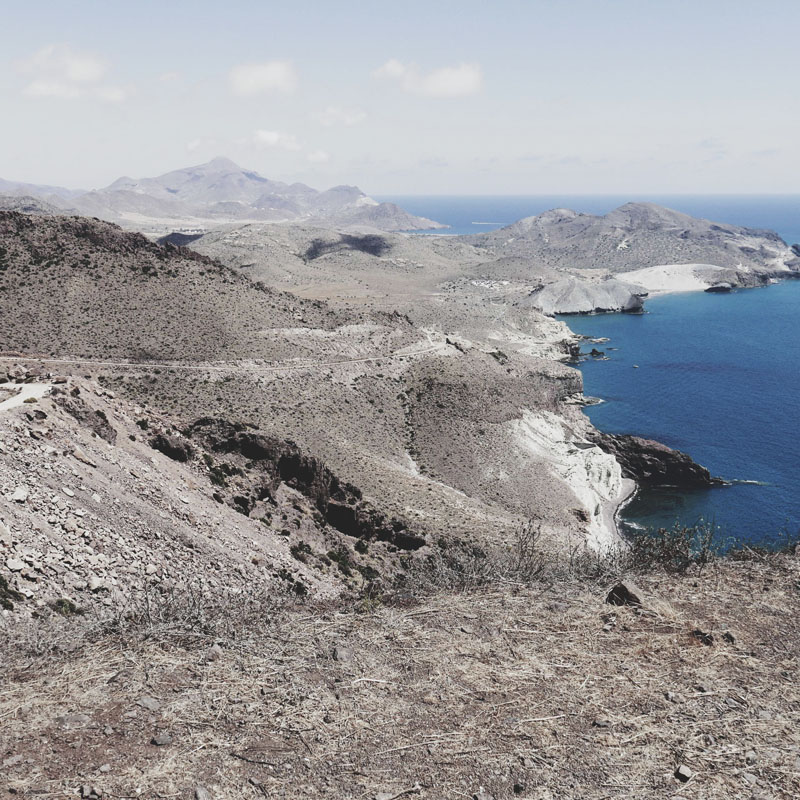 Viaje a Cabo de Gata con una furgoneta camper