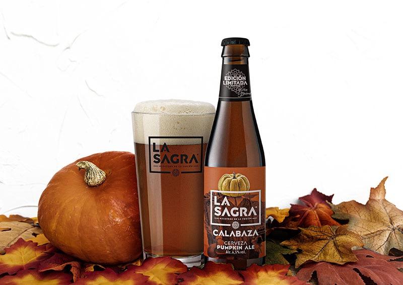 Cerveza La Sagra Calabaza, la craft para este Halloween