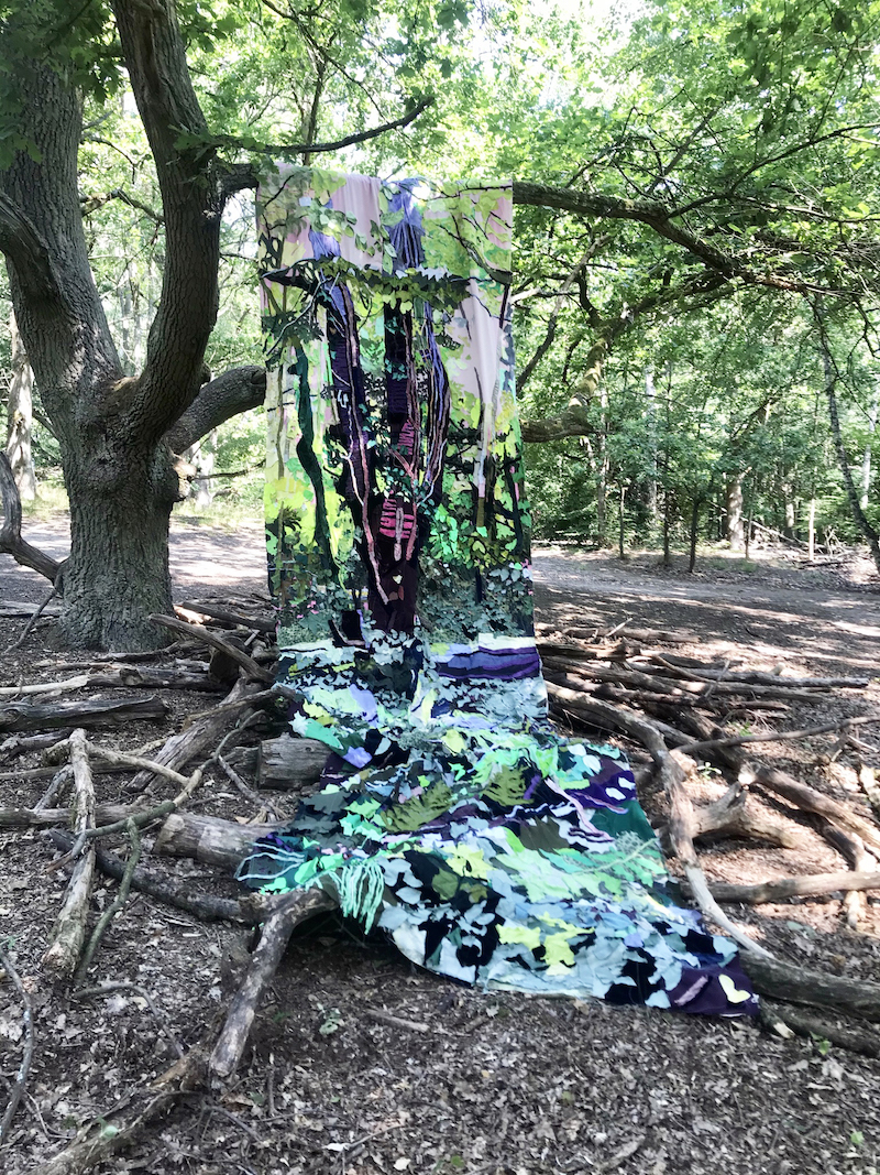 Subvertir la artesanía. Diane Lavoie y su collage textil