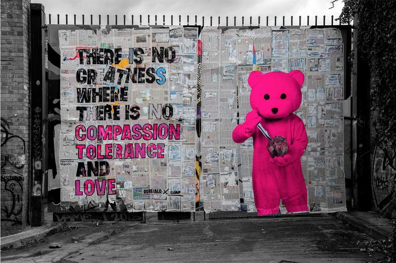 LUAP, un oso rosa para la salud mental