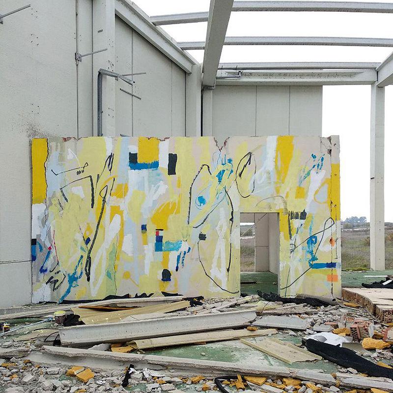 Entrevista a SRGER, el espacio urbano en la galería