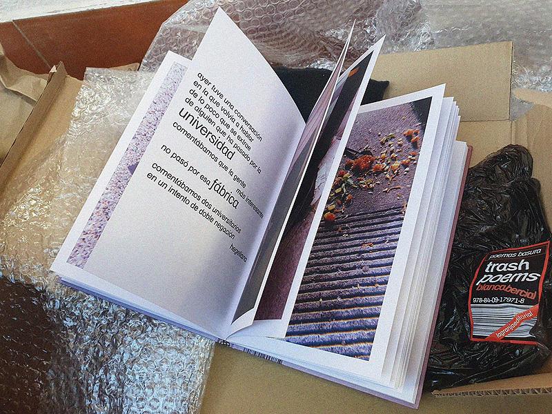 Trash poems de Blanca Bercial