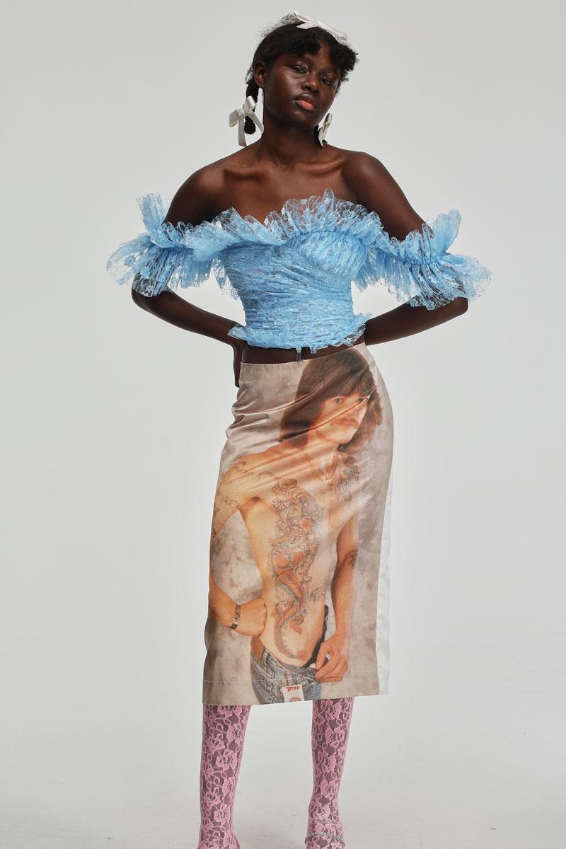 Ashley Williams SS21 o el Covid-19 como tendencia de moda