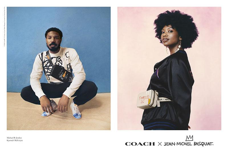 Coach x Jean-Michel Basquiat: su colección más familiar
