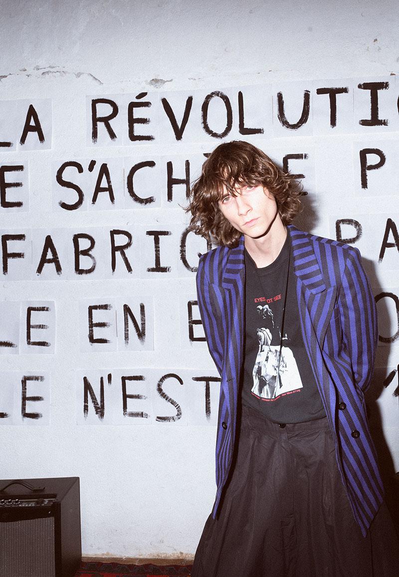 Cristian Andersson y su llamada a la revolución