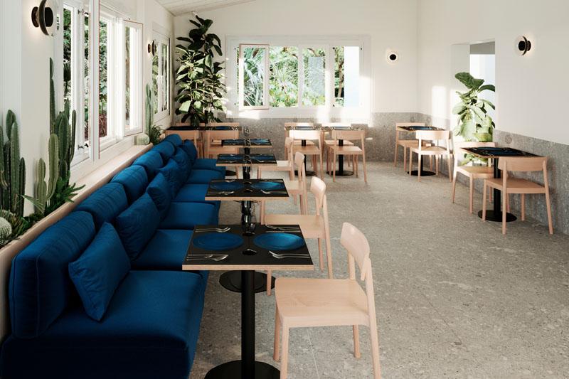 Estudio Wanna: Interiorismo de un Restaurante en Denia
