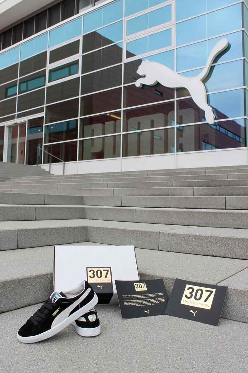 Puma Suede las zapatillas de Tommie Smith y el Black Power