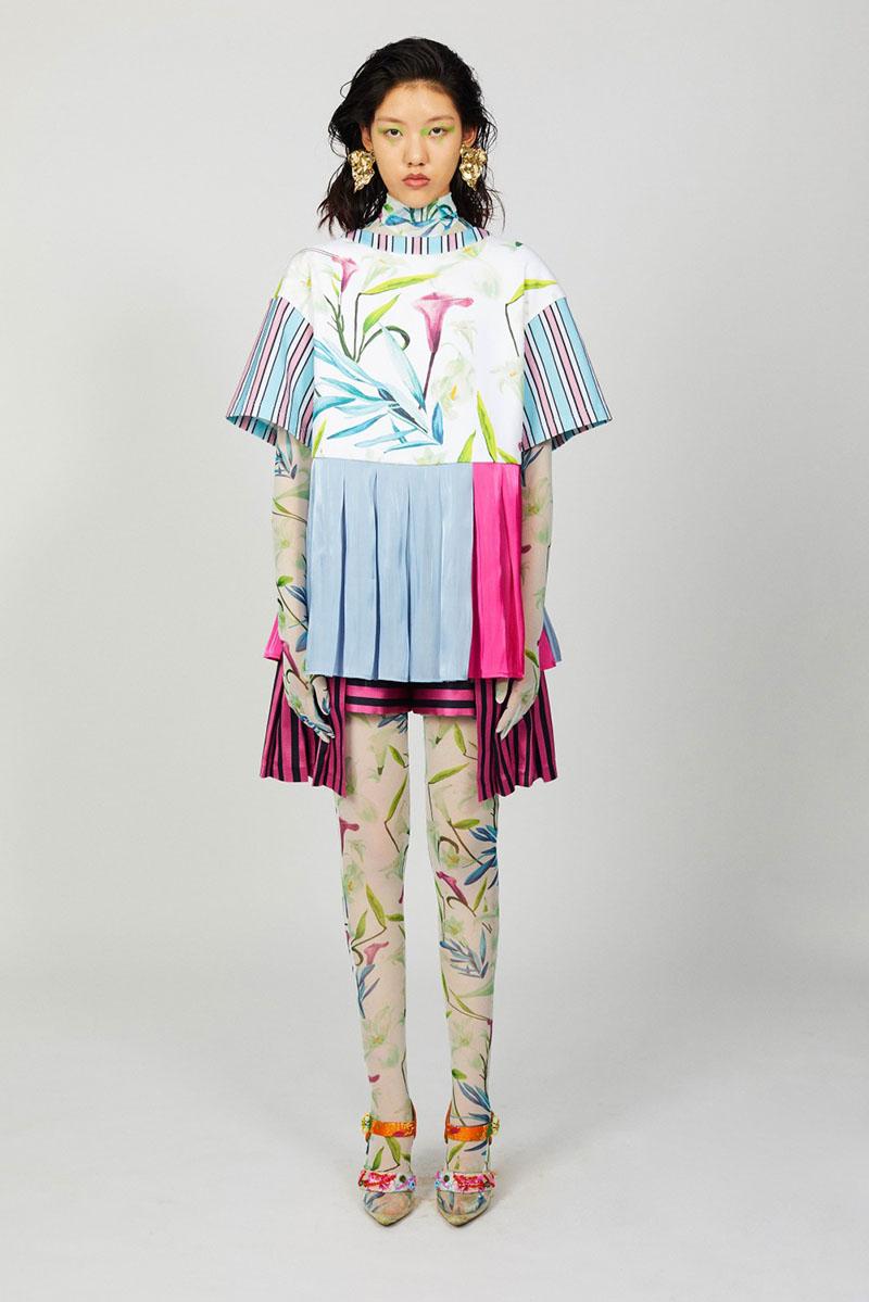 Shuting Qiu SS21, la diseñadora china conquista Milán