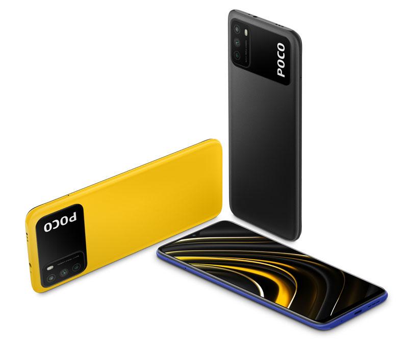 Poco M3, un smartphone con pantalla FHD + para gamers
