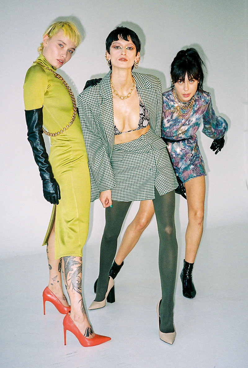 Las Mean Girls en versión lituana y confinadas