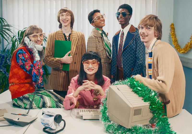 Fiesta navideña en la oficina: Gucci Gift Giving 2020
