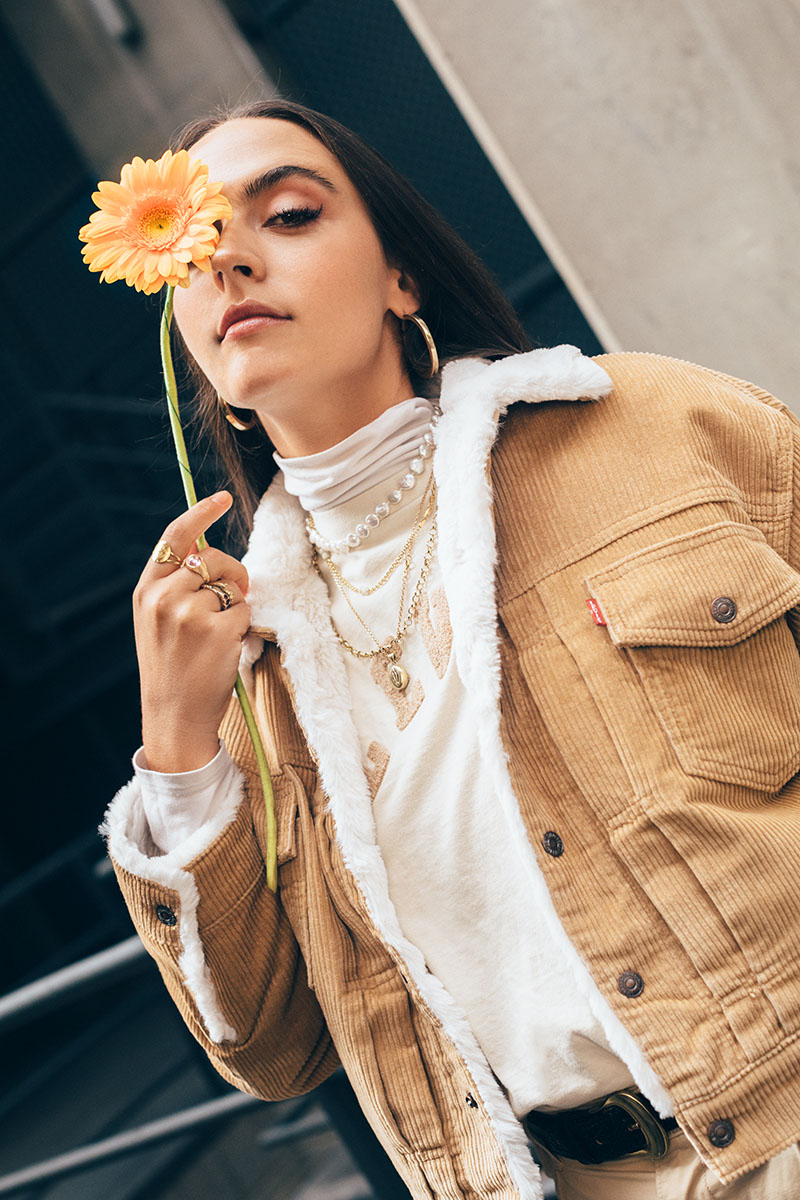 Levi's Cosy Up con Ana Perrote y Recycled J
