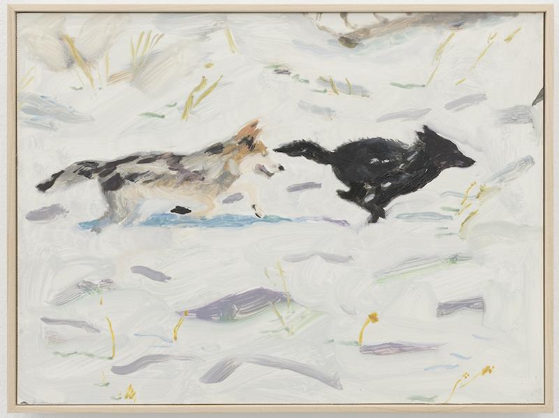 'Wolves at play', de Mari Eastman en Bombon projects