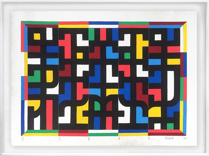 Exposición de Remed en Delimbo gallery
