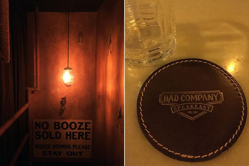 Speakeasy Bad Company 1920: un nuevo bar al estilo Ley Seca