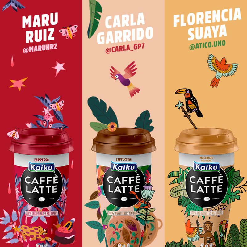 Cuando el café torna en arte: Talent Hunters by Kaiku