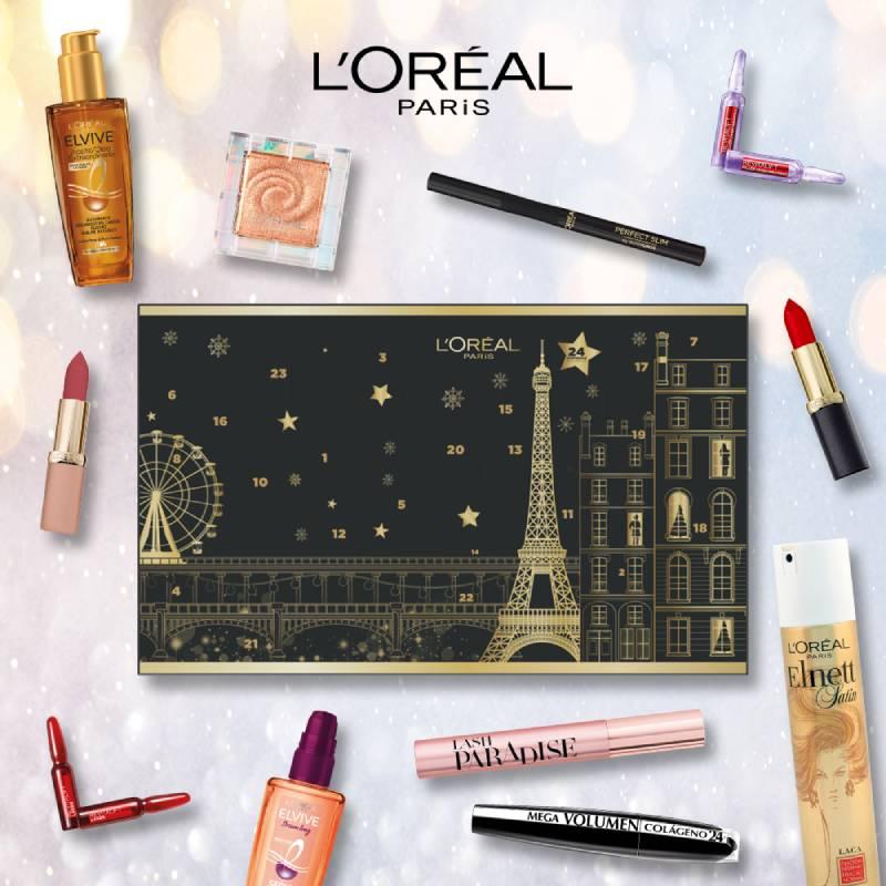 Calendario de Adviento L'Oréal Paris. Los mejores precios