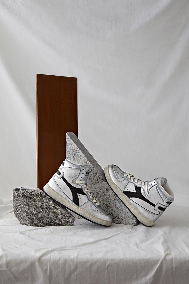 Las sneakers de Diadora Heritage Silver Pack