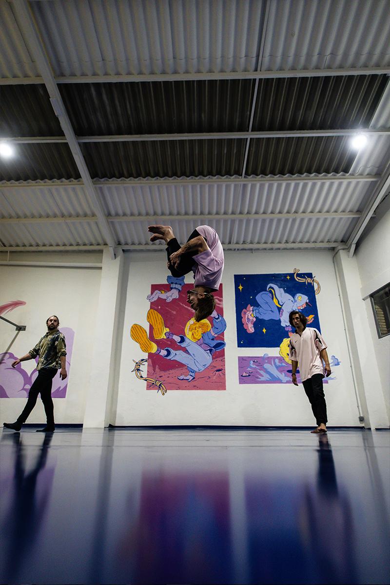 La Nave Parkour, un nuevo espacio deportivo con ADN urbano