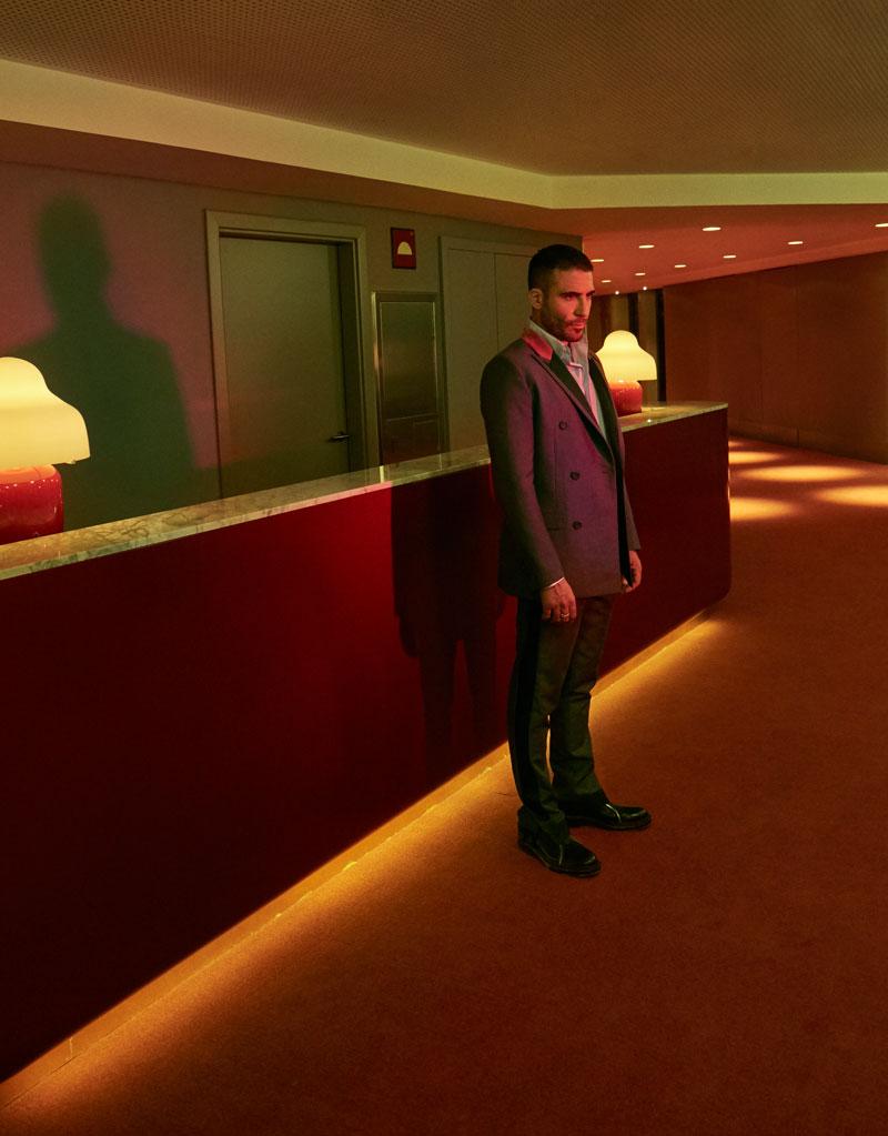 Miguel Ángel Silvestre de estreno con Dior Men Winter 2020