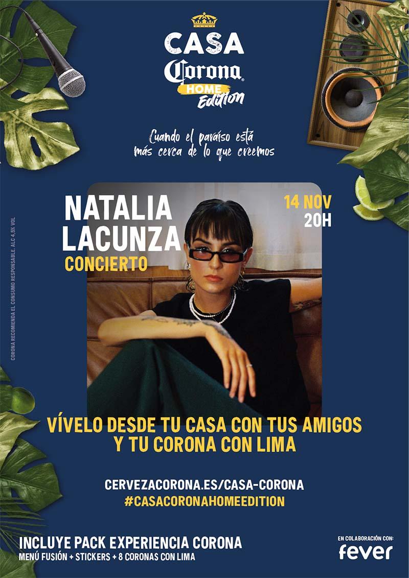 Natalia Lacunza da un concierto muy especial este sábado