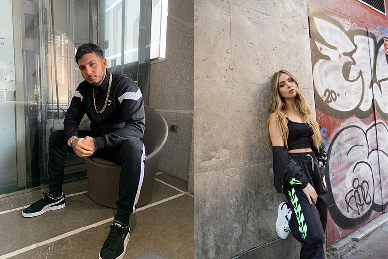Omar Montes y Ana Mena comparten zapatillas Puma