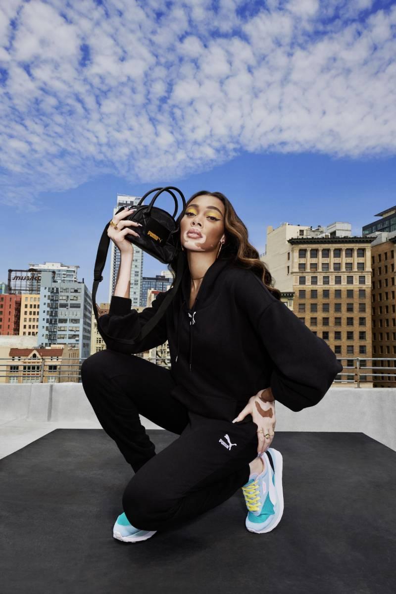 Las nuevas zapatillas de Winnie Harlow: Puma Cruise Rider