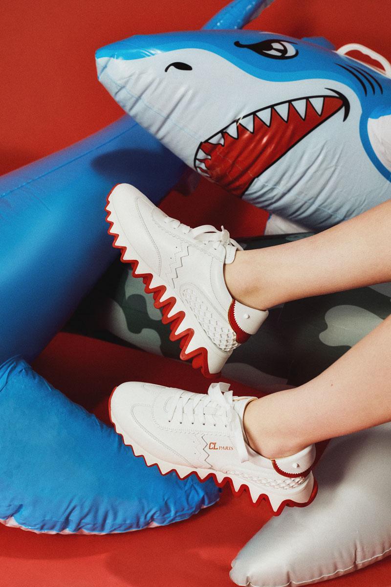 Las sneakers que muerden de Christian Louboutin: Loubishark