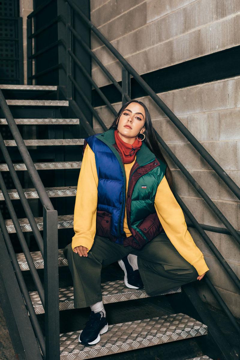 Música y Moda Sostenible x Recycled J, Ana Perrote y Levi's