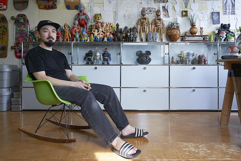Haroshi, el escultor de skateboards