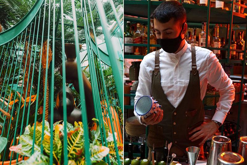 Restaurante Papúa Colón: Welcome to the jungle de Madrid