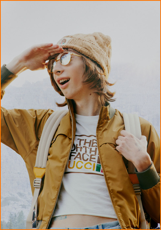 Explora tu libertad con The North Face x Gucci