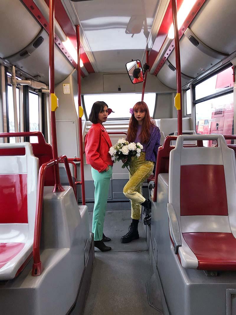 Adiós Amores el dúo de pop yé-yé del siglo XXI