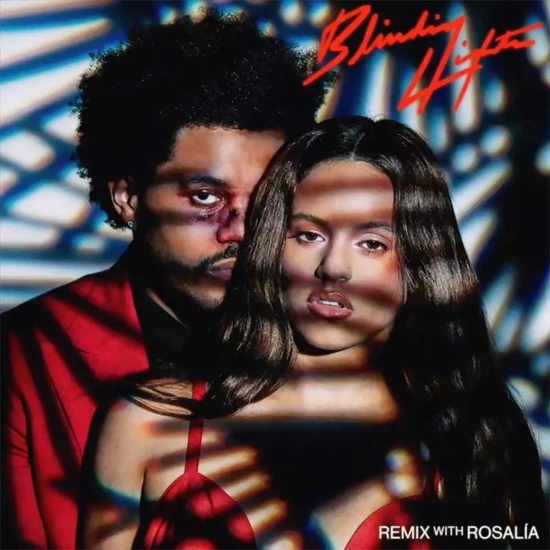 Rosalía y The Weeknd juntos en Blinding Lights Remix