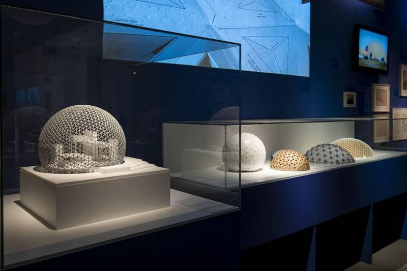 Exposición Buckminster Fuller de Fundación Telefónica